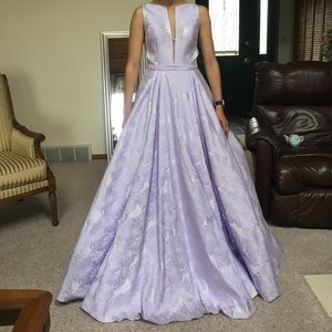Sherri Hill Dresses - Purple Sherri hill prom dress